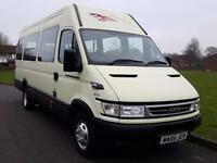 Iveco DAILY 45C13 + LWB + 17 SEATER MINIBUS + TWIN WHEELS + HIGH ROOF