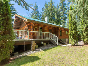 8344 Lincoln Road - Private Log Beauty!