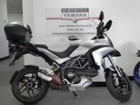 13 REG DUCATI MULTISTRADA 1200S TOURING WITH FULL LUGGAGE AND SERVICE HISTORY