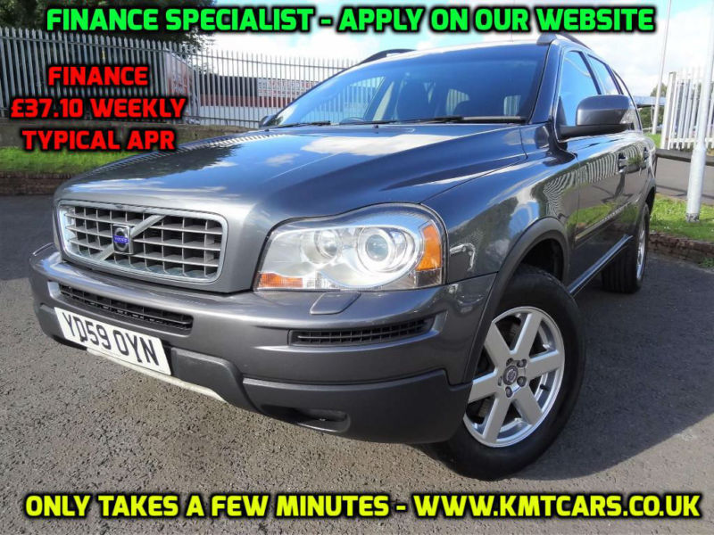 2009 volvo xc90 2 4 d5 awd active service hist 7 seats. Black Bedroom Furniture Sets. Home Design Ideas