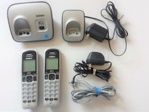 Uniden wireless phone, 2 sets