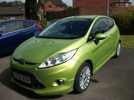FORD FIESTA 1.6 TDCi TITANIUM, 3 DR. LOW MILEAGE, LOW TAX AND EMISSIONS, LOVELY CONDITION