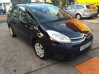 2008 Citroen C4 PICASSO GRAND VTR PLUS 16V 1.7 5dr, 2999