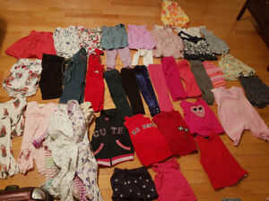 Baby clothes from 12m to 24m.