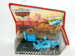 Disney PIxar Cars The King With Launcher Pit Race-Off Diecast