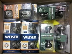 Weiser Smart Key Deadbolt and Weiser Door Handles Cambridge Kitchener Area image 1