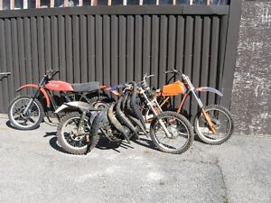 Lot of Can-Am Motorcycles