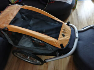 Chariot/remorque de vélo pour enfant MEC (une place)