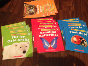 Kids books level A,B,C and D