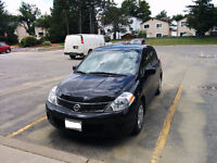 **2011 Nissan Versa Black LOW KMs (only 44000) MINT Condition