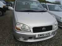 2001 SUZUKI IGNIS 1.3 GL 3dr Auto AUTOMATIC ALL THIS FOR GBP750