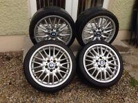 """18"""" BMW MV1s 5x120 E46 320d 330d"""