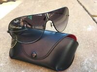 Men's Genuine Rayban sunglasses with case