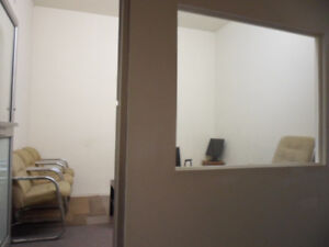 2 Separate Office Spaces Available - 100 Sq Feet - All Inclusive