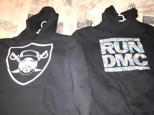 Ice Cube sweater Run DMC sweater XL