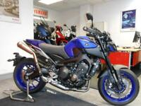 2018 Yamaha Blue MT 09 ABS 850cc -** Crescent Loaded Special**