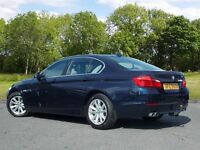 BMW 5 SERIES 2.0 520d EfficientDynamics 4dr (blue) 2013