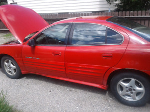 2000 grand am. 500 and drive it away. Mechanic special.