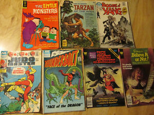 Comic Book Lot Ripley's Horror Gold Key Monsters Ghosts Karate