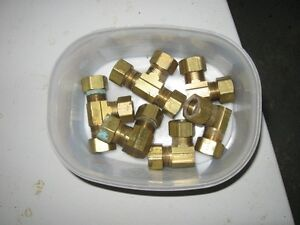 Brass compression fittings Peterborough Peterborough Area image 1