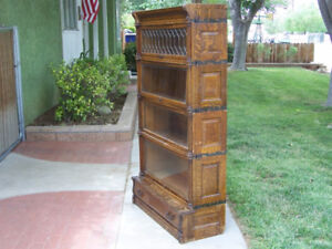 antique barrister bookcase exactly like the pictures