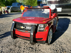 6v Fire Rescue Chevy Tahoe!