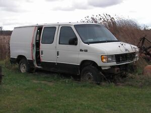 ford econoline vans for parts or fixin