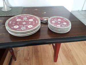 Set de vaisselle chinois