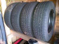 Winter Tires & Rims  195/70R14 - COOPER SNOW GROOVE