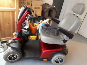 Hurricane Mobility Scooter Fast and Rugged