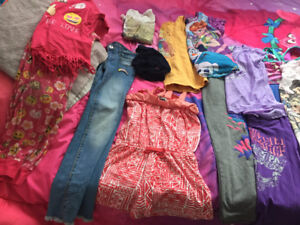 Some girls clothes plus shoes