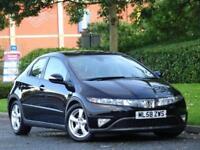 Honda Civic Petrol 1.8i-VTEC ES Black..PAN ROOF + 7 SERVICE STAMPS