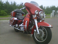 Harley Davidson FLHTC  For Sale Or Trade For A Boat