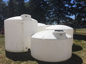 Water Storage Tanks at VanOostrums