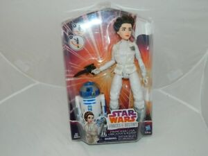 STAR WARS R2D2 AND LEIA FORCES OF DESTINY DOLL