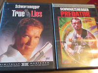 DVD, Movie - True Lies & Predator, (lot)  Arnold Schwarzenegger