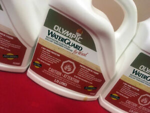 5 Gallons of Olympic Deck Water Sealant SEE VIDEO