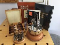 Hand Engraving Block and accessories.