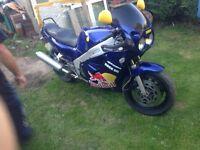 Yamaha YZR 1000cc Motorbike good condition