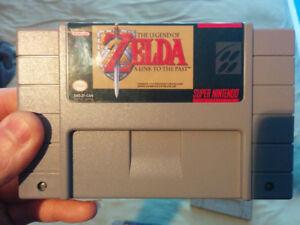 Zelda a link to the past FRANCAIS SNES- Super Nintendo