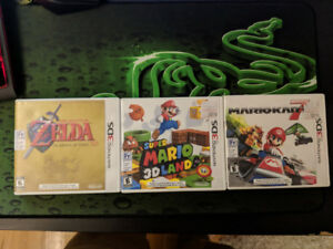 Jeux de Nintendo 3DS