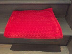 Douilette rouge