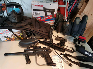 Tippmann 98 Custom & Paintball Gear