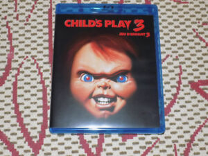 CHILD'S PLAY 3 BLU-RAY, EXCELLENT CONDITION, CHUCKY