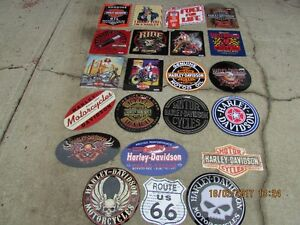 Harley AND Indian Motorcycle sign collection as well as lots of