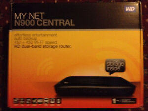 WD My Net N900 Central HD  Router with 1 tb storage