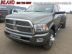 2012 Ram 3500 Laramie Longhorn  Auto,Diesel,Nav,Mega Cab,Leather