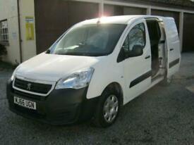 2016 Peugeot Partner 850 1.6 BlueHDi 100 Professional Van [non SS] PANEL VAN Die
