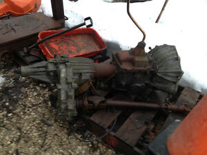 4x4 trans and transfer case