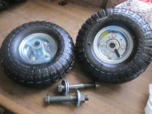 """NEW 10"""" Wheels, bolts, nuts and washers"""